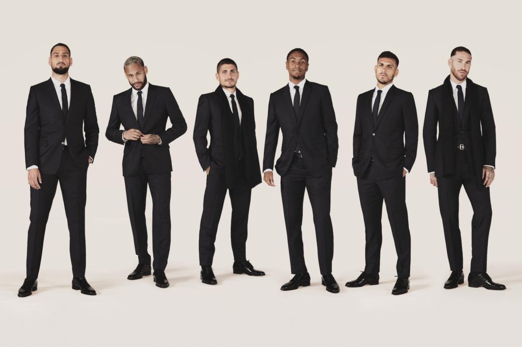 Гол! Футболисты ПСЖ теперь в Dior