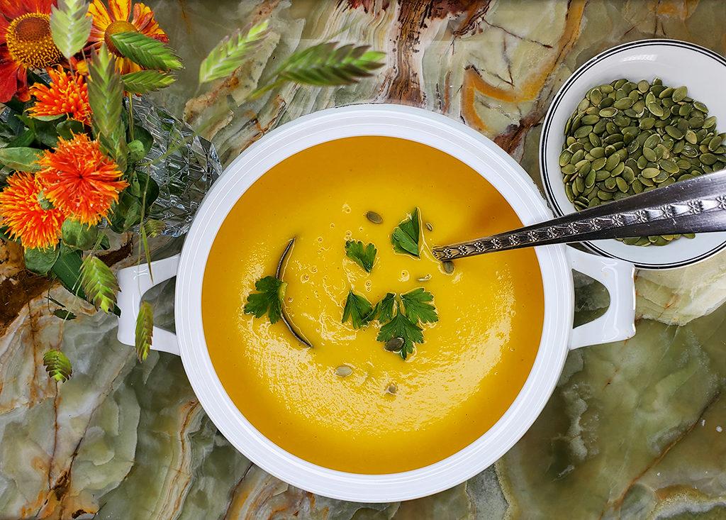 Пряный тыквенный суп против осенних холодов и хандры