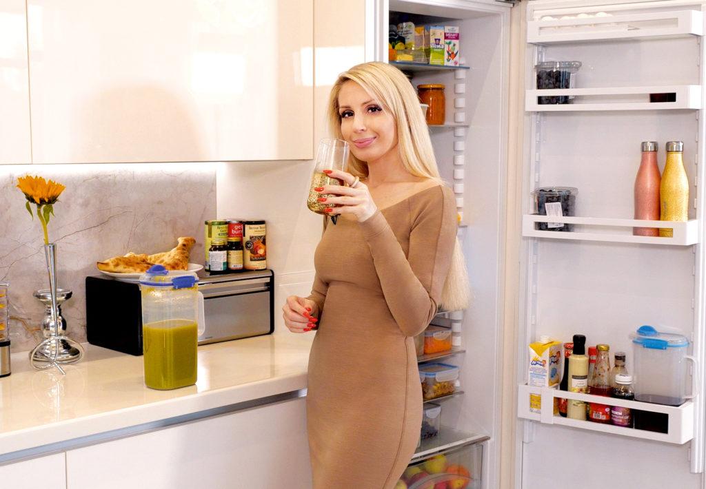 Что у вас в холодильнике? В гостях у Ирины Шапиро