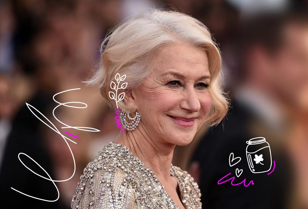 Хелен Миррен –о секретах красоты и счастливом принятии возраста